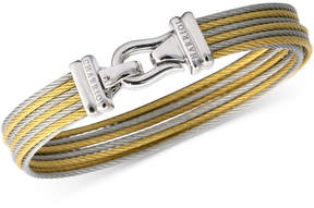 Charriol Women's Brilliant Two-Tone Pvd Stainless Steel Cable Bangle Bracelet