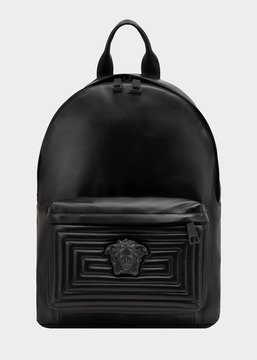 Versace Medusa Labyrinth Leather Backpack