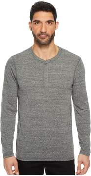 AG Adriano Goldschmied Clyde Long Sleeve Henley Men's Clothing