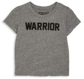 Spiritual Gangster Toddler's, Little Girl's & Girl's Warrior Tee