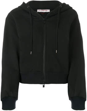 A.F.Vandevorst classic zipped hoodie