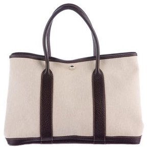 Hermes Toile Buffalo Garden Party MM - NEUTRALS - STYLE