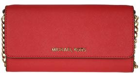 MICHAEL Michael Kors Jet Set Travel Shoulder Bag - ROSSO - STYLE