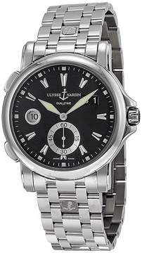 Ulysse Nardin GMT Big Date Black Dial Stainless Steel Men's Watch