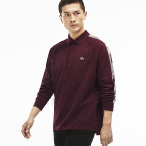 Lacoste Men's Contrast Band Jersey Polo