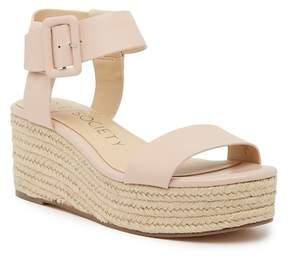 Sole Society Annette Flatform Ankle Strap Espadrille