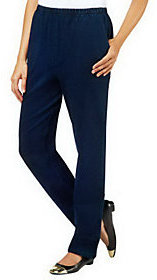Denim & Co. As Is Regular Pull-On Side Pocket Pants