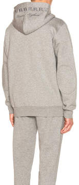 Burberry Kenton Embroidered Hoodie
