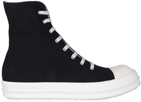 Drkshdw Cotton Canvas High-top Sneakers