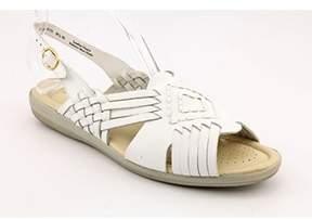 Softspots Tela N/s Open-toe Leather Slingback Sandal.