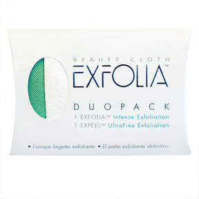 Smallflower Exfolia DuoPack Facial Exfoliation Cloth Set by Beauty Cloth (2 Cloths)