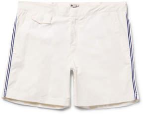 Hartford Socoa Mid-Length Striped Swim Shorts