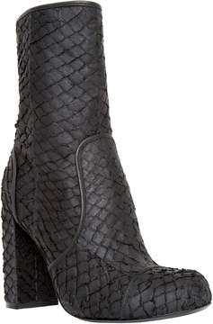 Max Studio hatch : textured leather boots