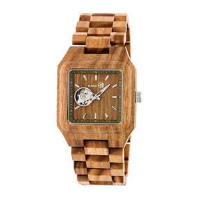 Earth Wood Black Rock Unisex Green Bracelet Watch-Ethew4404