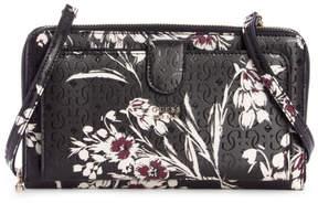 GUESS Tamra Floral Travel Wallet