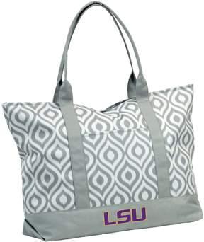 NCAA Logo Brand LSU Tigers Ikat Tote