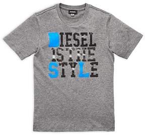 Diesel Boys' Style Tee - Big Kid