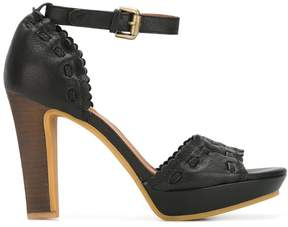 See by Chloe scalloped detail sandals