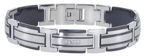 Armani Exchange Jewelry Mens Diamond Bracelet In Stainless Steel (0.20 Carats, H-i I3).
