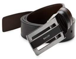 Bally Reversible Plaque Buckle Belt