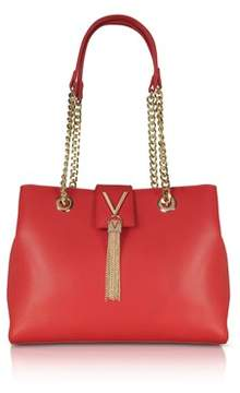 Mario Valentino VALENTINO by Valentino By Women's Red Faux Leather Handbag.