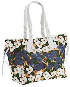Dooney & Bourke As Is Pansy Nylon Shopper - ONE COLOR - STYLE