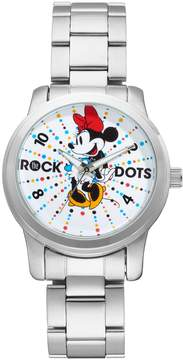 Disney Disney's Minnie Mouse Rock the Dots Women's Stainless Steel Watch