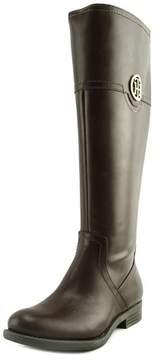 Tommy Hilfiger Silvan 2 Wide Calf Women US 5.5 Brown Knee High Boot