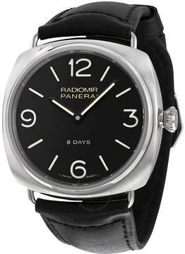 Panerai Radiomir Black Dial Leather Men's Watch