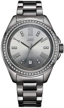 JBW Capri Gunmetal-Plated Diamond Ladies Watch