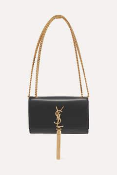 Saint Laurent Monogramme Kate Small Leather Shoulder Bag - Black