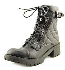 G by Guess Martha Quilted Combat Boots.