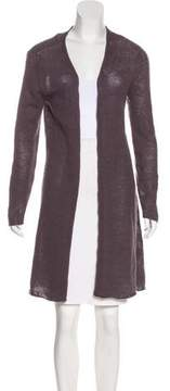 Allude Long Cashmere Cardigan