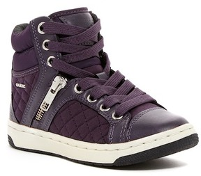Geox Creamy Hi-Top Sneaker (Little Kid & Big Kid)