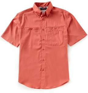 Roundtree & Yorke Performance Big & Tall Short-Sleeve Capeback Sportshirt