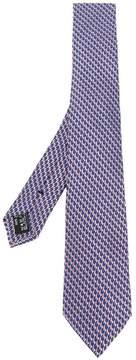 Giorgio Armani jacquard pattern tie