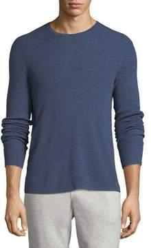 Rag & Bone Men's Gregory Waffle-Knit Merino Wool Sweater