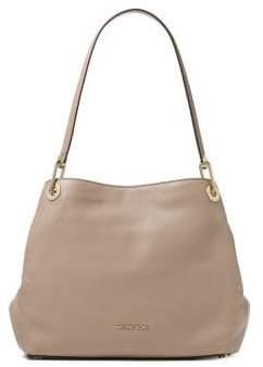 MICHAEL Michael Kors Raven Large Pebbled Leather Shoulder Bag