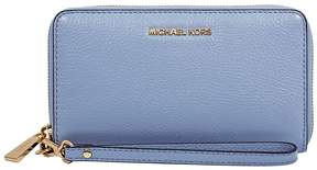 Michael Kors Mercer Large Phone Wristlet - Pale Blue - ONE COLOR - STYLE