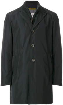 Canali double collar coat