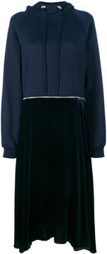Cédric Charlier contrast sweatshirt dress