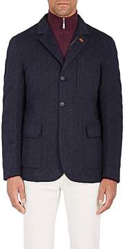 Barneys New York Men's Diamond-Quilted Cashmere-Silk Sportcoat