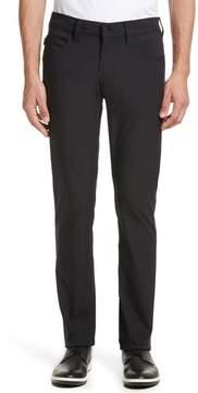 Armani Collezioni Emporio Armani AJ Straight Leg Five-Pocket Pants