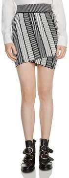 Maje Jessy Knit Mini Skirt