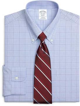 Brooks Brothers Non-Iron Regent Fit Glen Plaid Dress Shirt