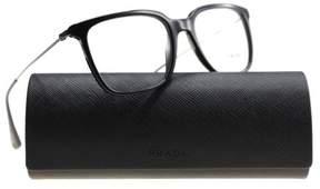 Prada Eyeglasses PR 17 TV 1AB1O1 BLACK