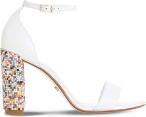 Dune Millionss leather heeled sandals