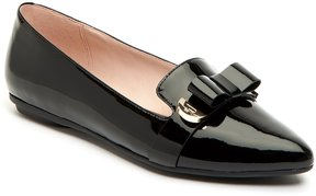 Taryn Rose Edith Patent Leather Bow Detail Slip-Ons
