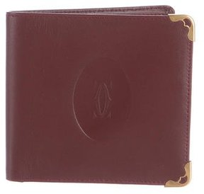 Cartier Leather Fold Wallet
