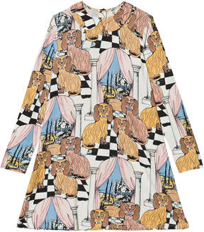 Mini Rodini Dashing Dogs Print Collar Dress
